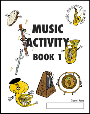 MD4K Activity Book 1 - ebook