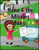Nana & the Missing Banjo - soft cover book