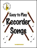 Easy to Play Recorder Songs - ebook