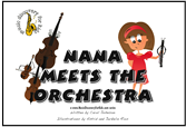 Nana Meets the Orchestra - soft cover book